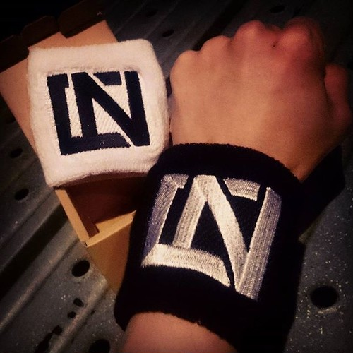 NCA Logo Wristband [B&W set]