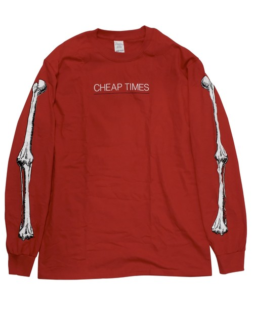 "CHEAP TIMES ""BONES"" L/S T-shirt"