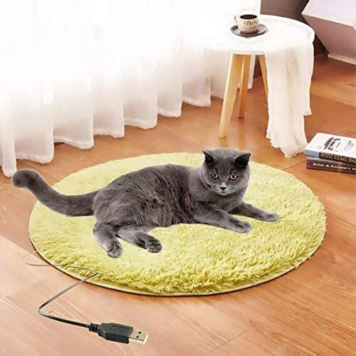 ペット用 ホットマット 犬 猫 USBヒーター ホット カーペット ヒーターマット ペットヒーター 犬用 猫用マット 暖房器具 省エネ 節電 防寒 寒さ対策