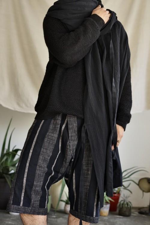 <STYLING> ⇨ JAN JAN VAN ESSCHE - SHORTS#9 (BOLD STRIPED CLOTH)