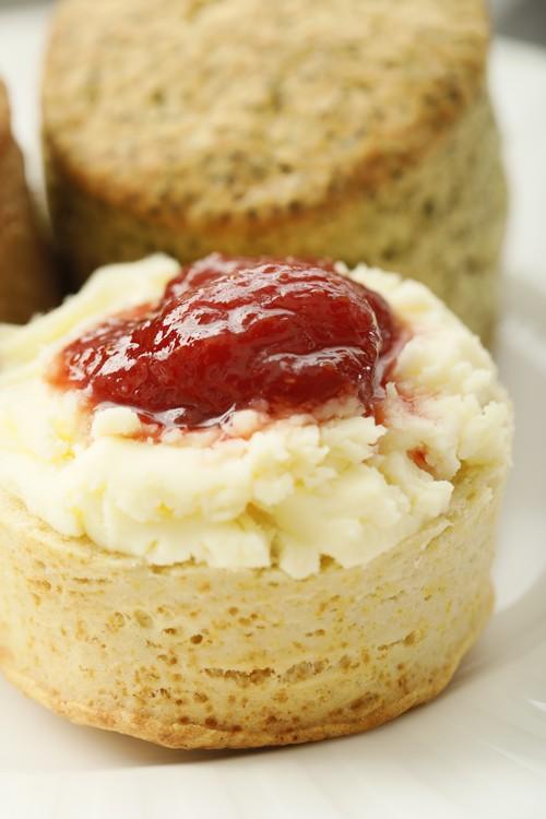 英国風の素敵なティータイムを! TJ's Cream Tea Set  タツタジャムのクリームティーセット
