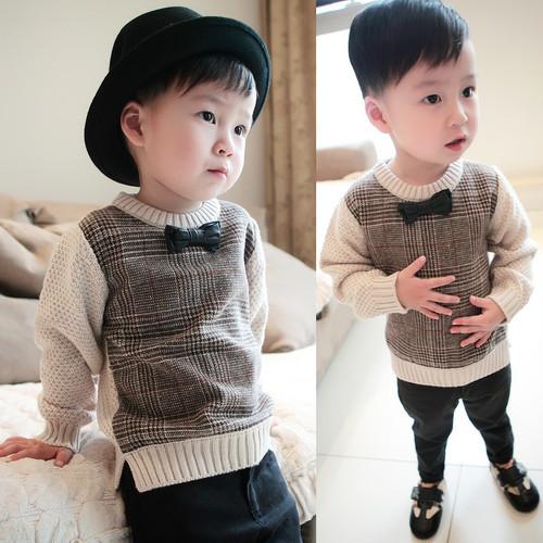 子供服 セーター プルオーバー 毛糸 男の子用  J25