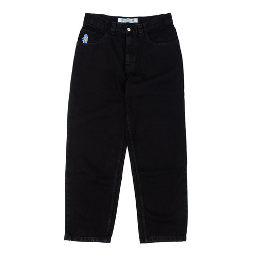 POLAR 93s BLACK DENIM PITCH BLACK