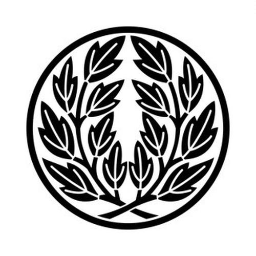 糸輪に違い葉牡丹 aiデータ