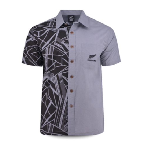 All BLACKS 2019 Aloha shirt Tribal Gray