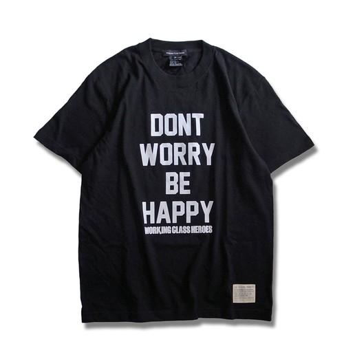 Don't Worry T-shirt -Black