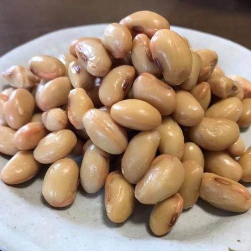 自然食*自然栽培の手作り蒸し大豆90グラム