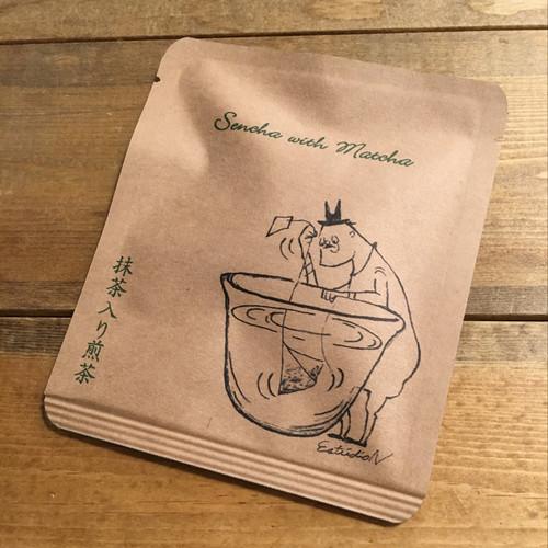 EstudioNデザイン抹茶入り煎茶