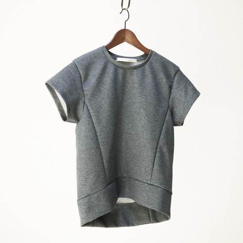 Pullover - Double knit short Grey  ykcs-402