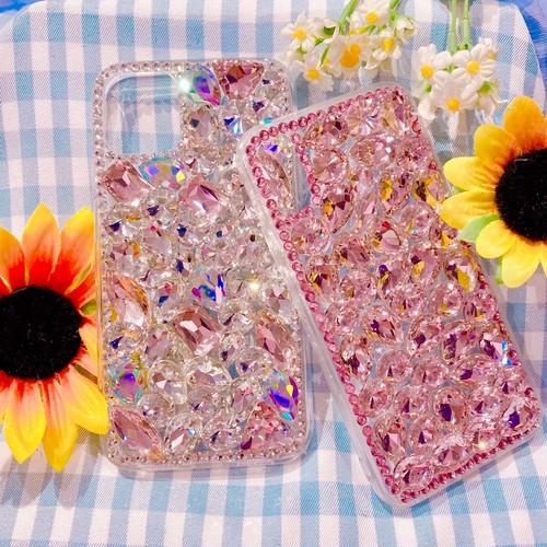 キラキラビジューiPhoneケース