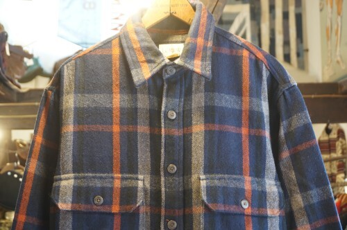 early 90's J.CREW plaid wool Shirt