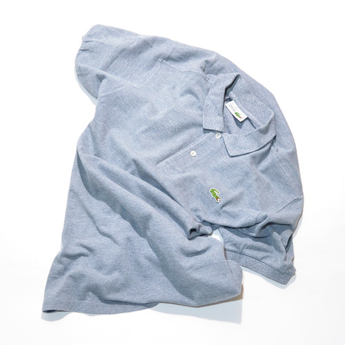 Used☆ 80's LACOSTE 霜降りブルーグレー Polo Shirts