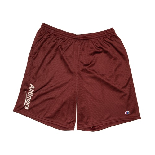 ALLTIMERS / ESTATE EMBROIDERED SHORTS -MAROON-