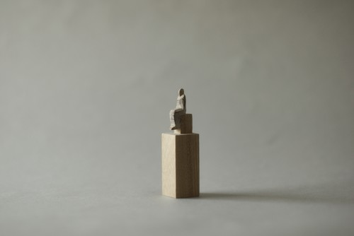 (101)wood figure-mini台付_055