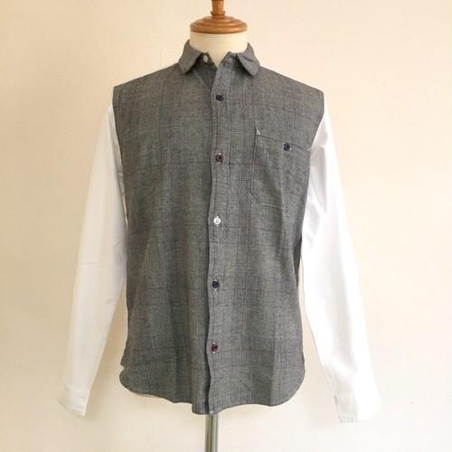 Switch Regular Collar Shirts Glen Check