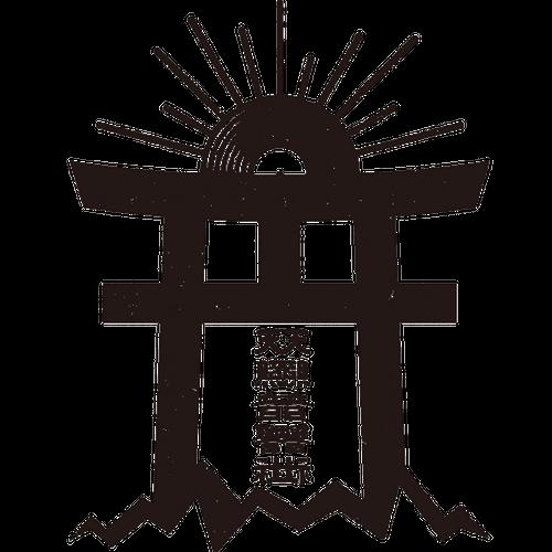 "【GOODS】SSSRecord""天照音響社""鳥居ロゴステッカー"
