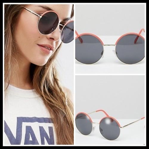 【予約販売】Vans Circle Of Life Sunglasses In Peach サングラス ヴァンズ