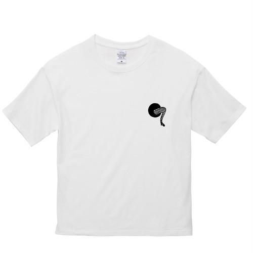 """hntbk BIG Tshirt Maskita Laba """"fishnets"""" WHITE"""