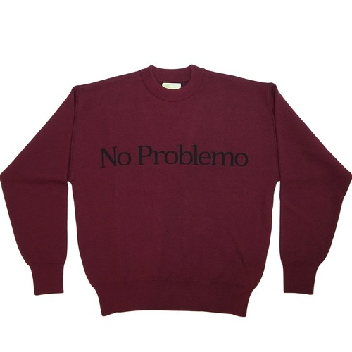 Aries No Problemo Jumper WINE