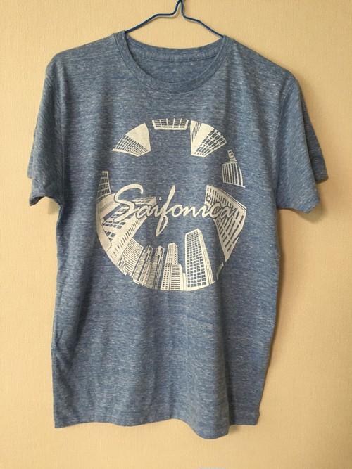 Tシャツ 青/Mサイズ