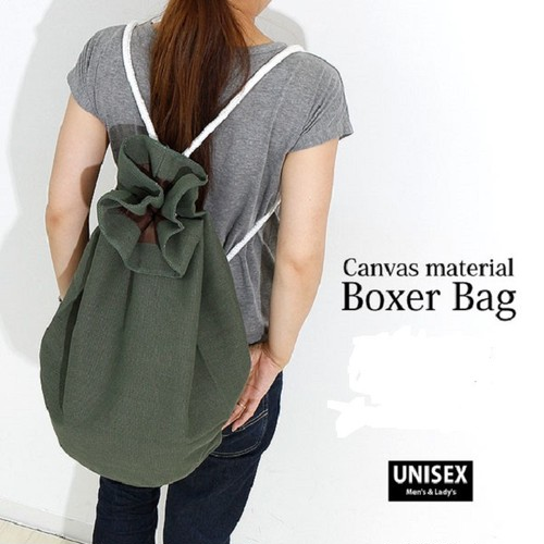 canvas boxer bag(men's・lady's・bag)