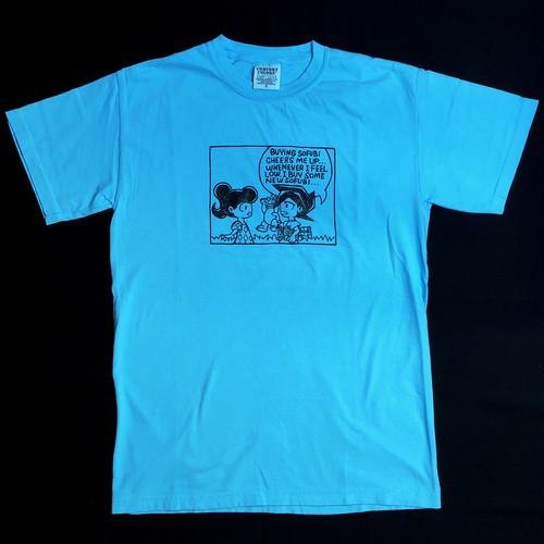 C.M.U.Sofubi Tee - Neon Blue