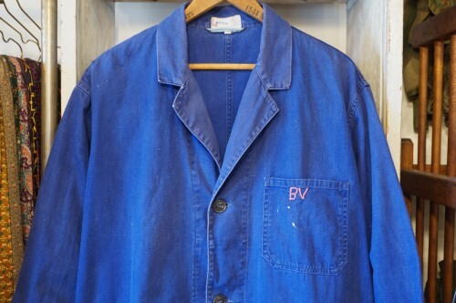 "70's Lotus euro cotton shop Coat ""middle-length"""