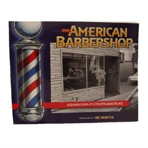 フォトブック青 The American Barber Shop Book