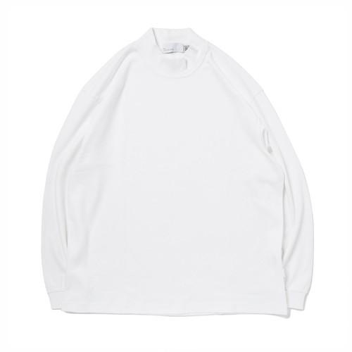 SO ORIGINAL MOCK NECK L/S T-SHIRT(WHITE)