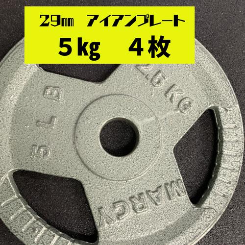 29㎜ アイアンプレート 5kg 4枚