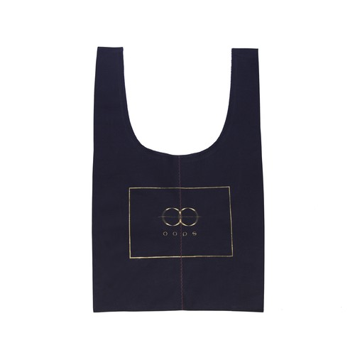 oops CLASSIC TOTE BAG Navy