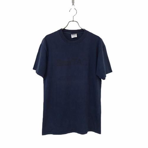 90's Hanes BEEFY-T StarTac motorola T-shirt Navy
