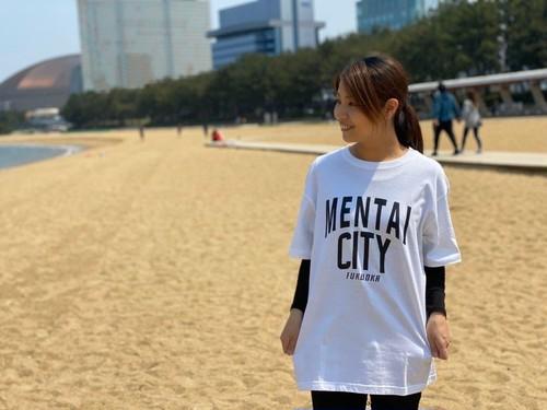 MENTAI CITY 半袖Tシャツ ホワイト