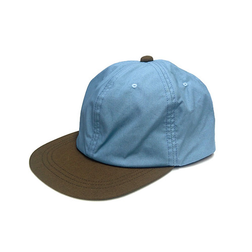 mas. - AMPHIBIOUS 6PANEL (Sax Blue / Brown / Olive)