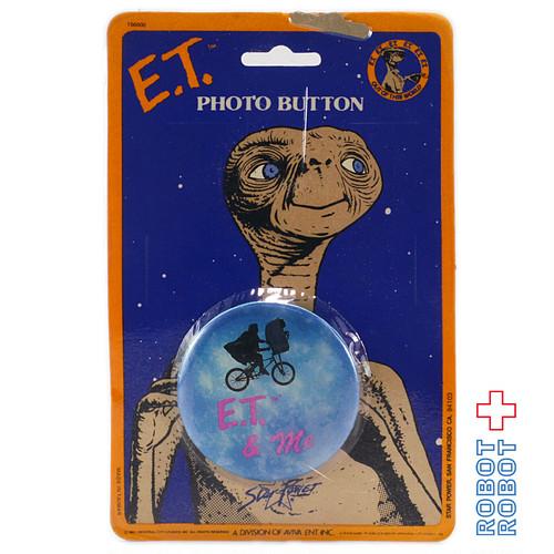 Aviva E.T 缶バッジ E.T. & Me 台紙入