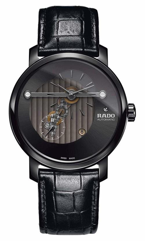 【RADO ラドー】DIAMASTER HIGHLINE BLACK /ダイヤマスター ハイライン ブラック スイスメイド腕時計