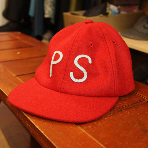 【最終セール40%OFF】POLeR WOOL PS CAP / Red