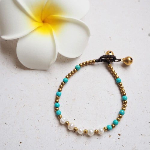 Pearl & Turquoise Bracelet
