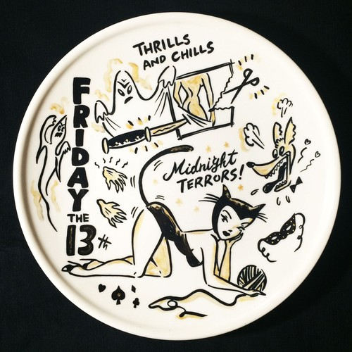 """Friday the 13th"" plate (予約商品)"