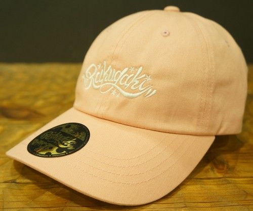 2017 Main Logo Dad Cap Light Pink x White