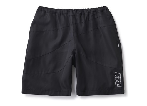 FTC(エフティーシー) / CURVE BEACH SHORTS -BLACK-