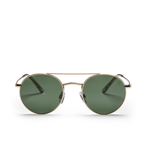 【CHPO】Noel (gold frame and a green lens)