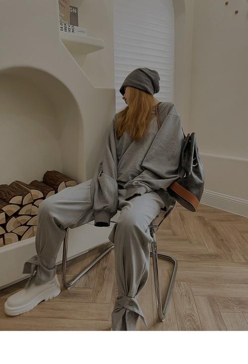 クロスベルトリラックススーツパンツ(White,Grey) 200