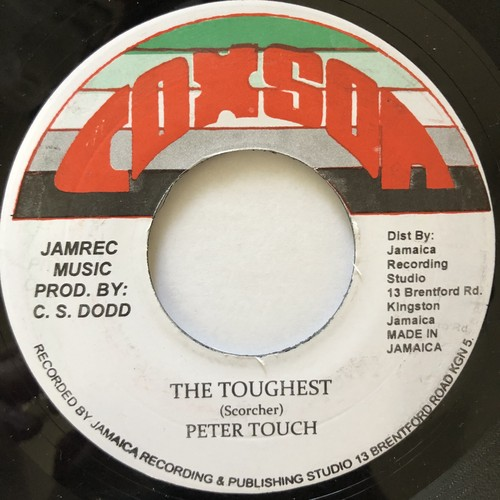 Peter Touch - The Toughest【7-20599】
