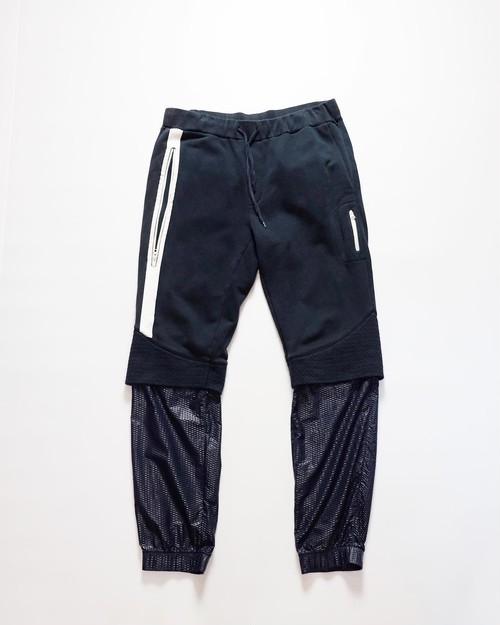 LES BENJAMINS switching jersey pants