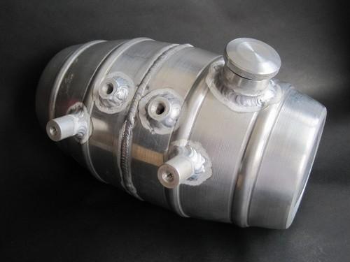 Beer barrel shape アルミ オイルタンク