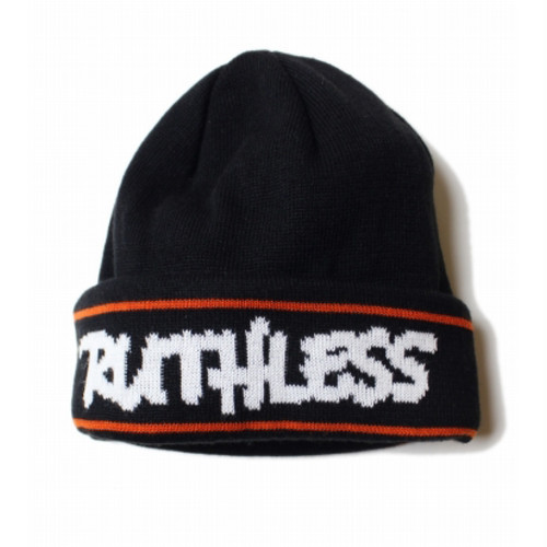 RUTHLESS #HD Knit Cap Black