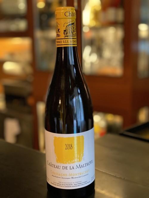 【期間限定】2018年Chassagne-Montrachet Blanc Chateau De La Maltroye