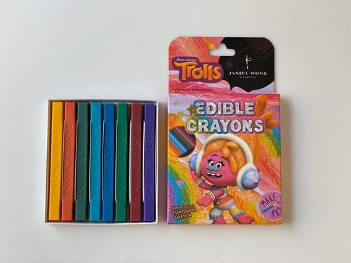 トロールズエディブルクレヨン:DJスキ Trolls Edible Crayon: DJ Suki