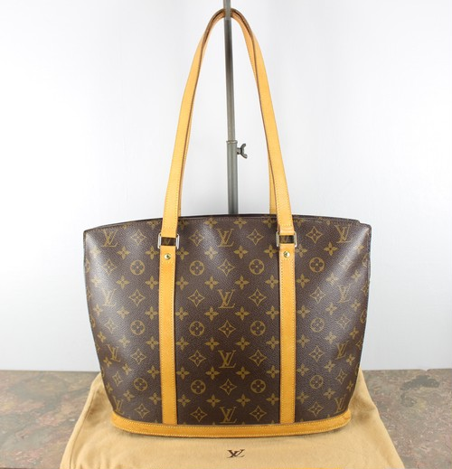 .LOUIS VUITTON M51102 MB0081 MONOGRAM PATTERNED TOTE BAG MADE IN FRANCE/ルイヴィトンバビロンモノグラム型トートバッグ 2000000045252
